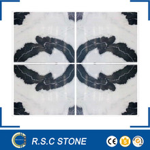 good price panda white marble stone for cooking
