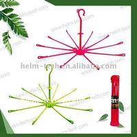 HOT!!(10pegs)Multifunctional plastic garment Hanger