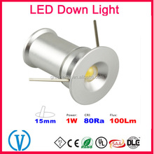 Mini 1W types Recessed waterproof very small led light