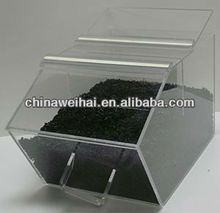 clear plexiglass box/plexiglass containers