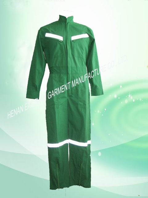 offshoure construction customised workwear coverall