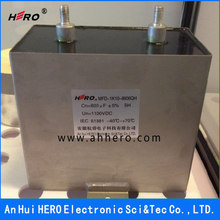 High Pressure Low Inductance MFD Locomotive Capacitor