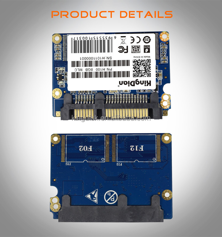 hardware products shenzhen kingdian 1.8 ssd hdd 256 gb half slim sata solid state hard disk drive for pos device