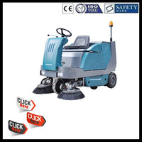 SDK1600 CE China industrial electric ride on vacuum truck mounted road sweeper