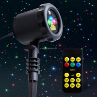 Outdoor Star Projector Shower Laser Christmas Lights