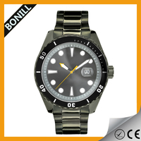 Custom high quality assoted color military luxury men swiss watches