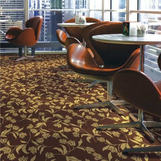 Wholesale Pattern Broadloom Carpet Polyester Printed Wall to Wall Carpet