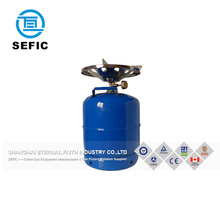 Hot Selling Steel Made 6KG Transparent Lpg Gas Cylinder