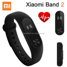 Good Quality Mi Band 2 wristband with Heart Rate Monitor Bluetooth Phone Pedometer 100% original smart watch silico band