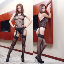 Newest Sexy Lingerie Showing Nipple spicy underwear Garter belt lingerie