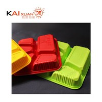 2015 latest plastic bento box environmental disposable foamed PP food container