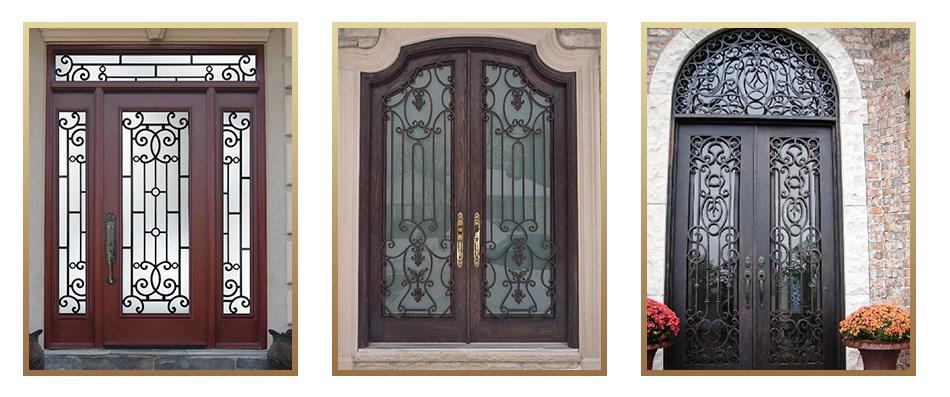 China Manufacturer European Style Unique Interior Door