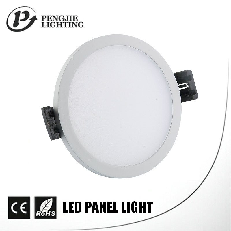 Ultra slim narrow edge indoor flush mount ip44 led panel light 8w