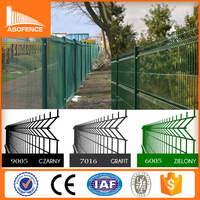 (Trade Assurance)3d Fence / Galvanized sheet metal fence panel