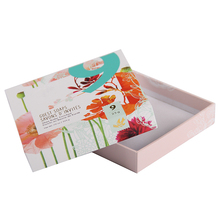 Fancy square paper wrapped custom soap boxes