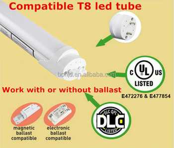 hot sale 100-277vac high power 120cm 1200mm 4ft G13 base t8 led tube 18w
