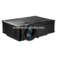 2017 New arrival SD50 1500Lumen1080P MINI Portable LED Projector Video Games TV Home Theater Movie projector