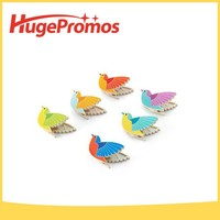 Promotional Plastic Color Small Bird Bag Clips