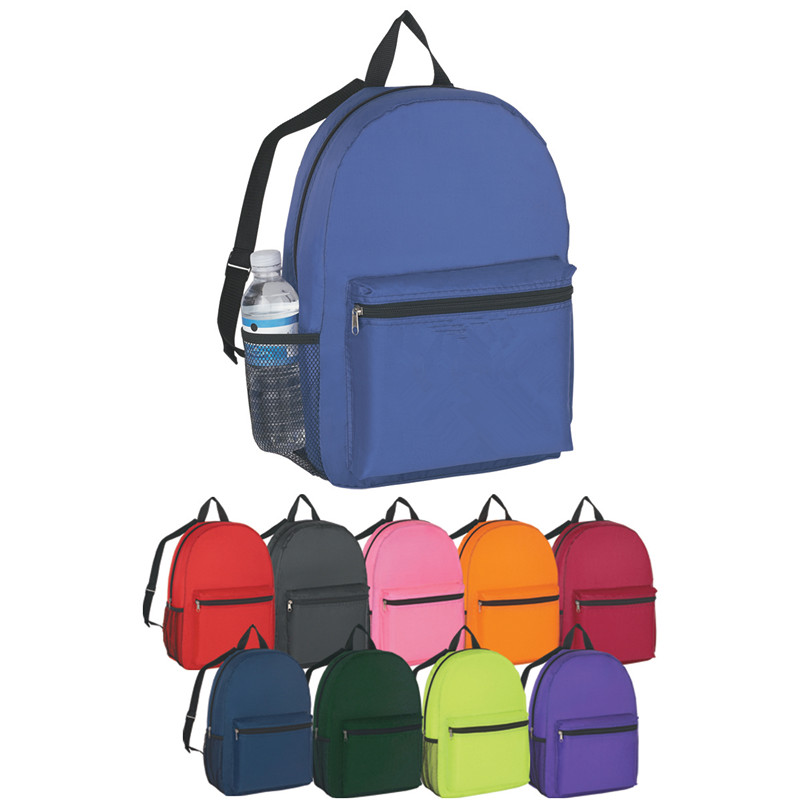 Ten Colors Option 210D Polyester Budget <strong>Backpack</strong>