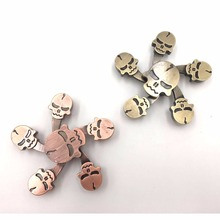 Hot selling cube Fidget Toys New Carry Finger Toy Sprinner fidget toy Mix color Cheap Hand Spinner