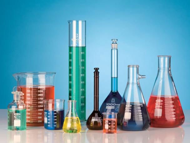 Glassware for Laboratory Research and Lab Testing