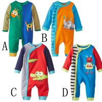 S31555W Newest wholesale baby creeper 100%Cotton romper for babies