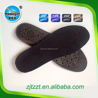 Factory Customized PVC material shoe sole length free cutting size inner insoles Unisex soft velvet foot care shoe full pad
