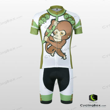 Custom made bicycle clothing /cycling jersey with special design for men
