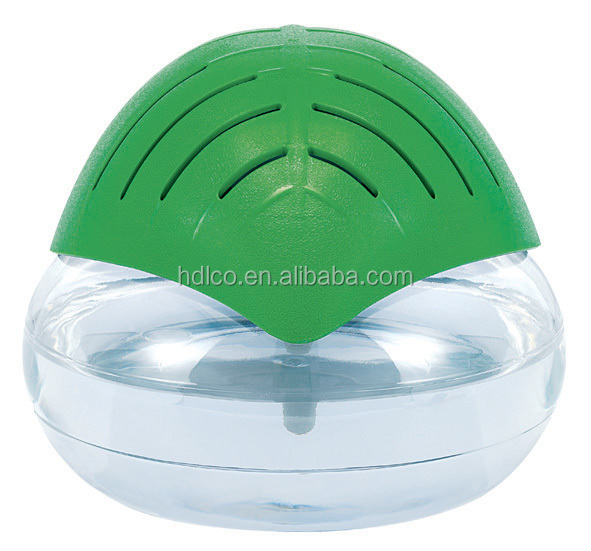 LED mini leaf shaped water based air purifier