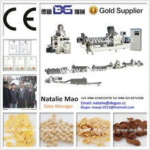Kelloggs corn flakes /coco balls /ring snacks processing lien with CE