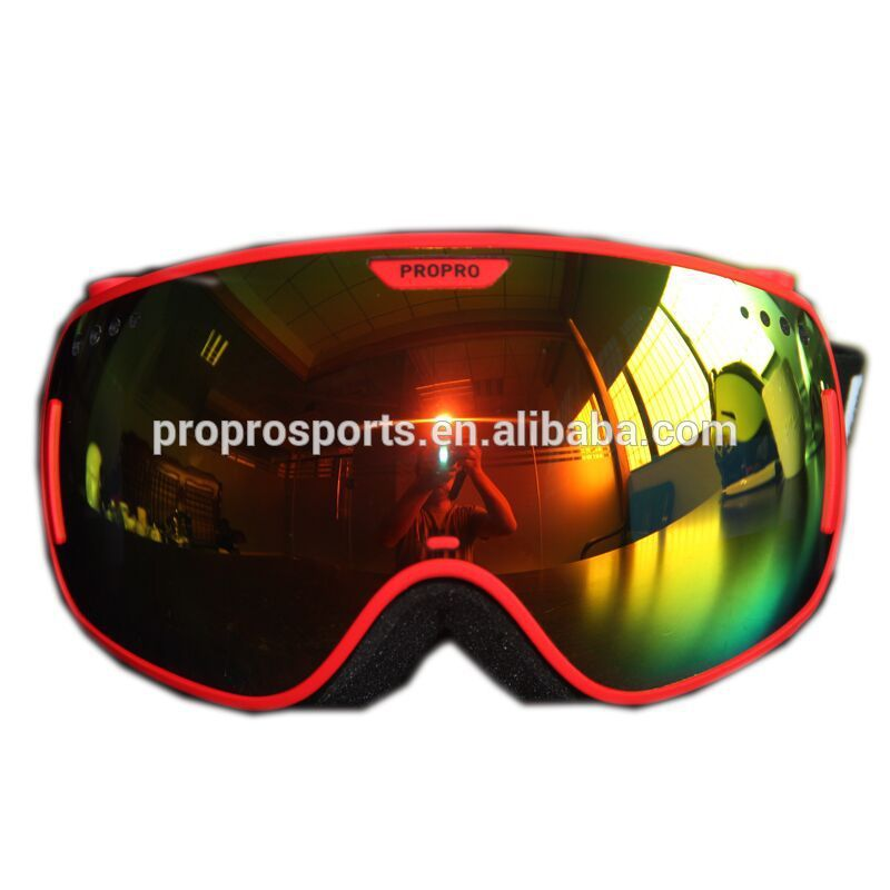 Detachable Lens Big Spherical Proffesional REVO Glasses Snowboard Goggles For Snow Sports Eyewear Protective