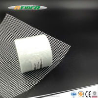 Waterproof Adhesive Fiberglass Mesh Tape For Aluminum
