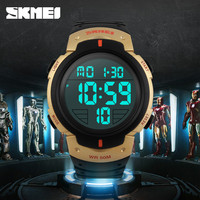 taobao low price skmei sport digital gold hot selling watch clock in allibaba com
