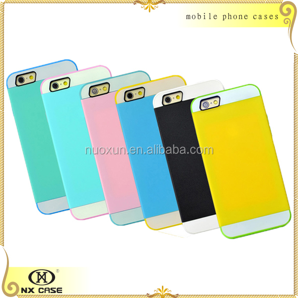 Hard optical silicone candy mobile phone cases for iPhone 5/5c