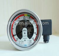 SF6 stainless steel manometer/car tire pressure gauge/types of electrical relays for natural gas export Middle East