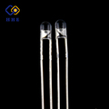 China best selling 4mm white color LED diode with round shapes for traffic lights