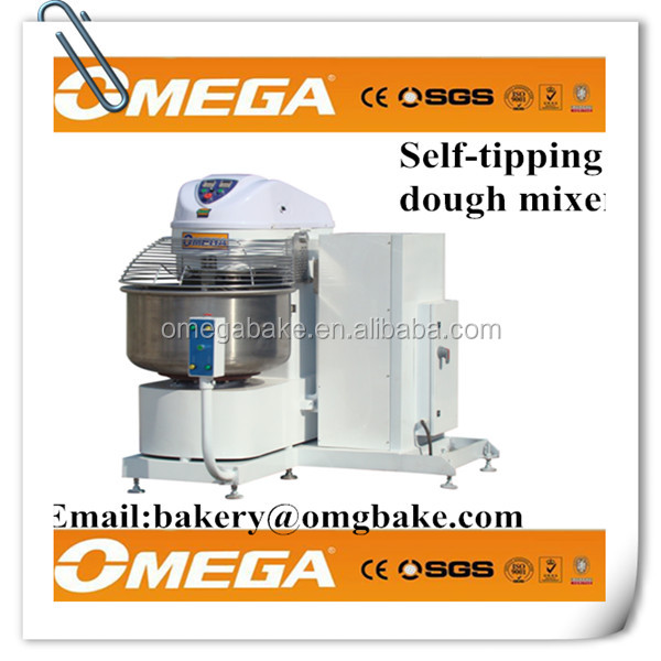 High Quality Kneading self-tipping Spiral Dough Mixer For Pastry,savory pastry cake recipes