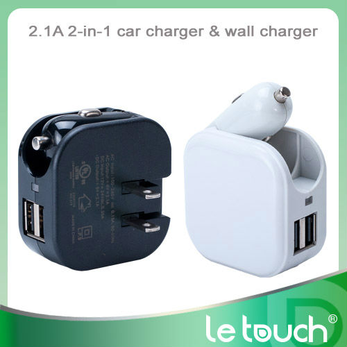 Dual USB child electric car charger for iphone/ipad