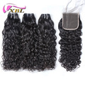 xblhair wholesale price new hair style water wave bundles with closure