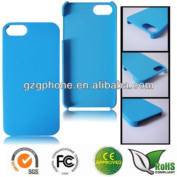 Newest colorful PC rubber case for iphone5S with many colors