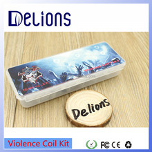 Highly Recommended DIY Vape Wire 10pcs/box Violence Coil Kit 7 in 1 Demon Killer Wire for 528 Goon Kennedy 25