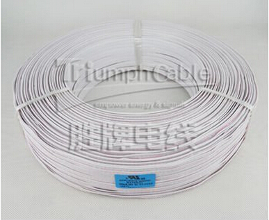High voltage Halogen Free XLPE Flat Ribbon Wire UL approval style 4412 for Computer Wire