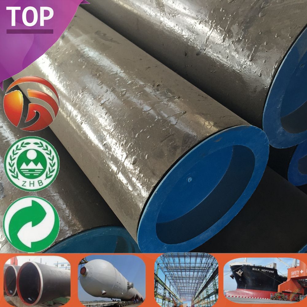 Steel Pipe S355 Quality High 47mm diameter tube Big Sizes Thickness S355 Pipe 5 inch steel pipe