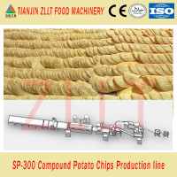 Full Stainless Steel potato chips machine