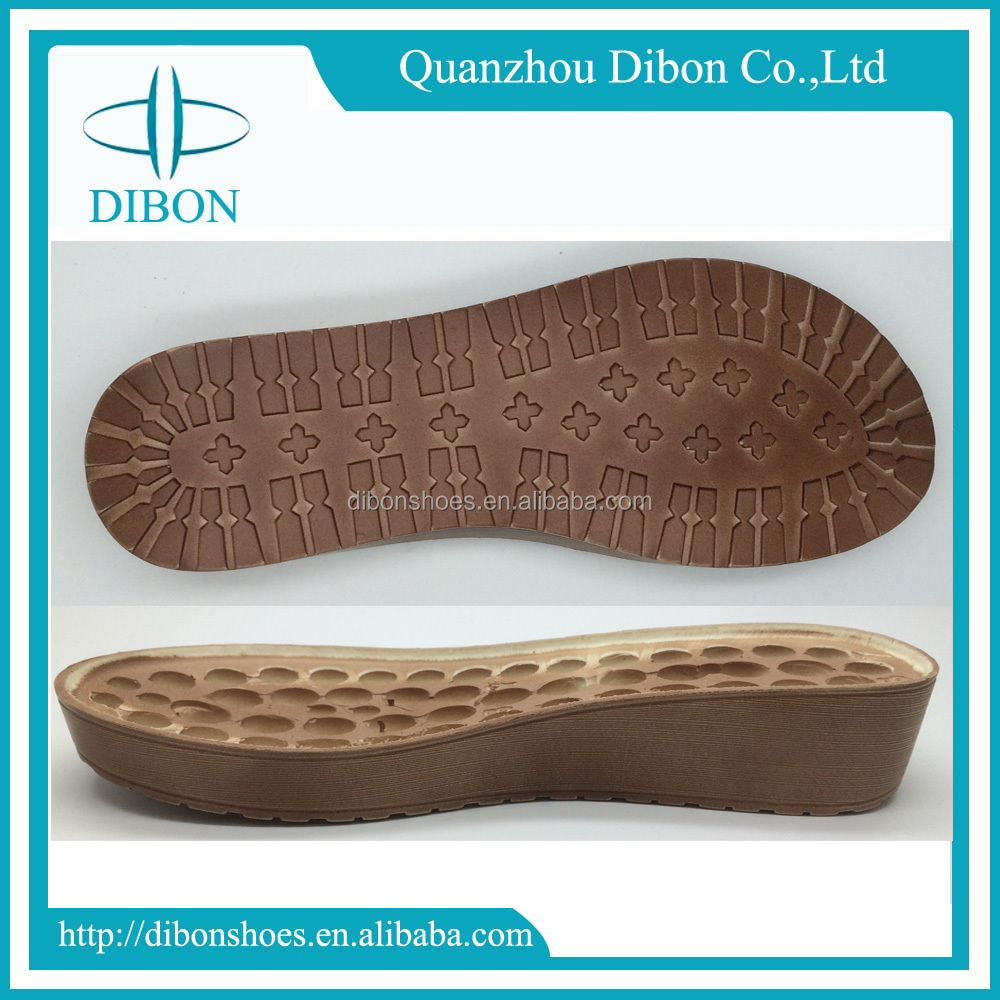 2017 newest ladies pu sole design to make sandals wholesale