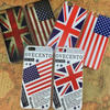 Phone cover case for iphone 5/ 5S /6 /6plus /samsung /USA /UK /national flag