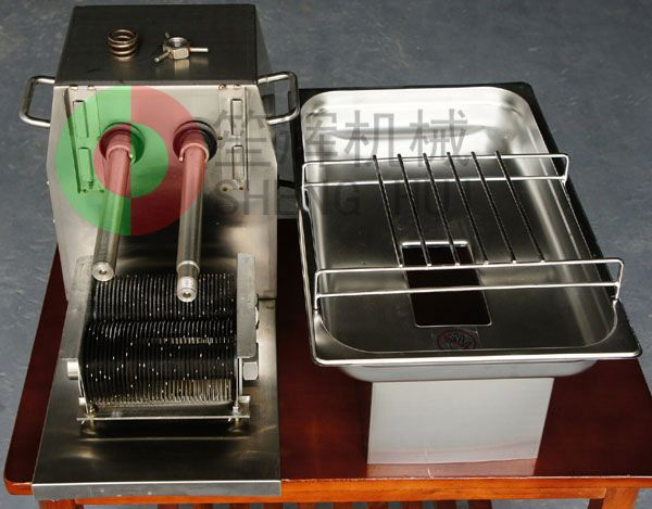 beautiful and practical fresh/frozen meat cube cutting machine QX-250