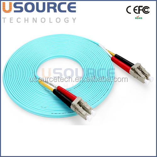 Multimode lc - lc Patch Cord Solutions Duplex OM3 Fiber Optical Jumper Cables