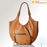 Genuine leather hobo bag in high quality,fashion design for ladies in Newest
