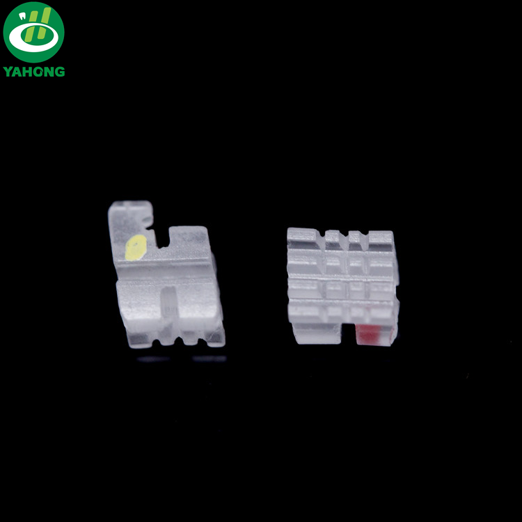 345W/<strong>H</strong> .022 20pcs/set Dental Invisible Orthodontic Ceramic Roth Bracket with high precision